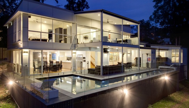Stunning modern architecturally designed family home