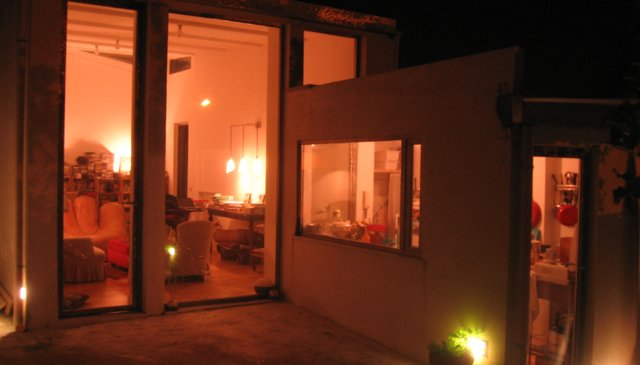 contemporary semi detached house in secluded central rome